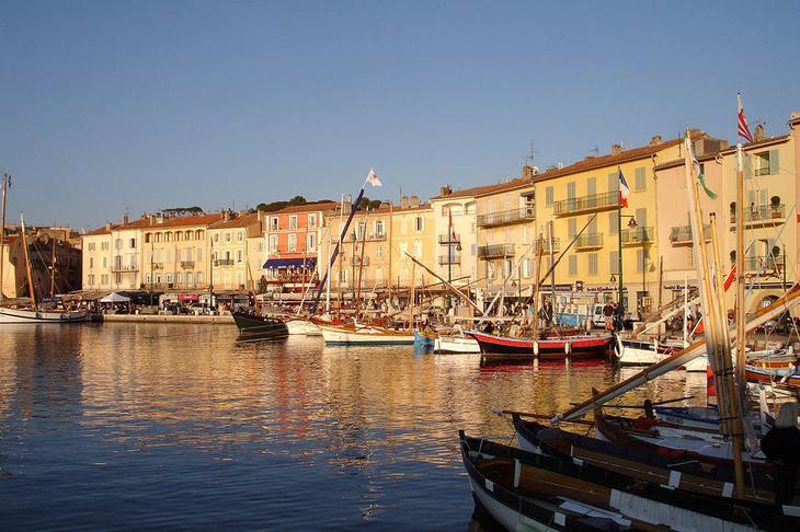 Старый порт в Сен-Тропе