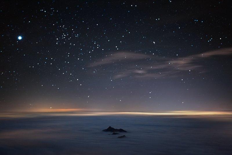 """""""Я фотографирую мир над облаками"""": волшебные работы Роберто Бертеро горы, красиво, небо, облака, природа, творчество, фото, фотограф"""