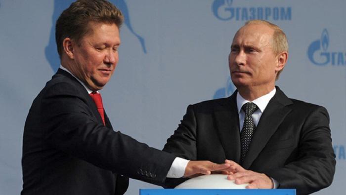 Путин и Миллер