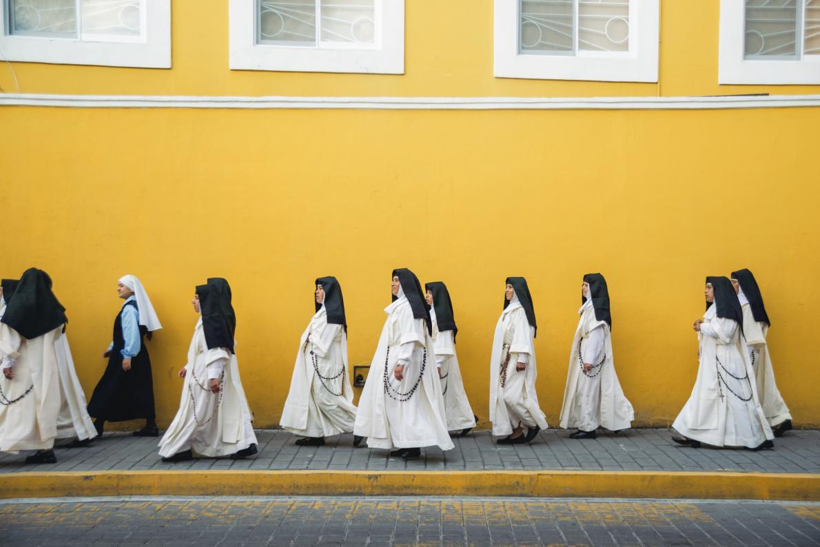 Жизнь монахинь