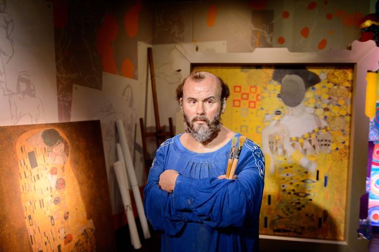 Густав Климт, австрийский художник-символист, персонаж музея восковых фигур Мадам Тюссо в Вене.