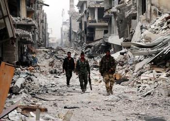 C 7 мая из сирийских населенных пунктов вывезли более 13 тысяч боевиков