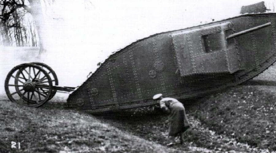 Главное оружие Первой мировой