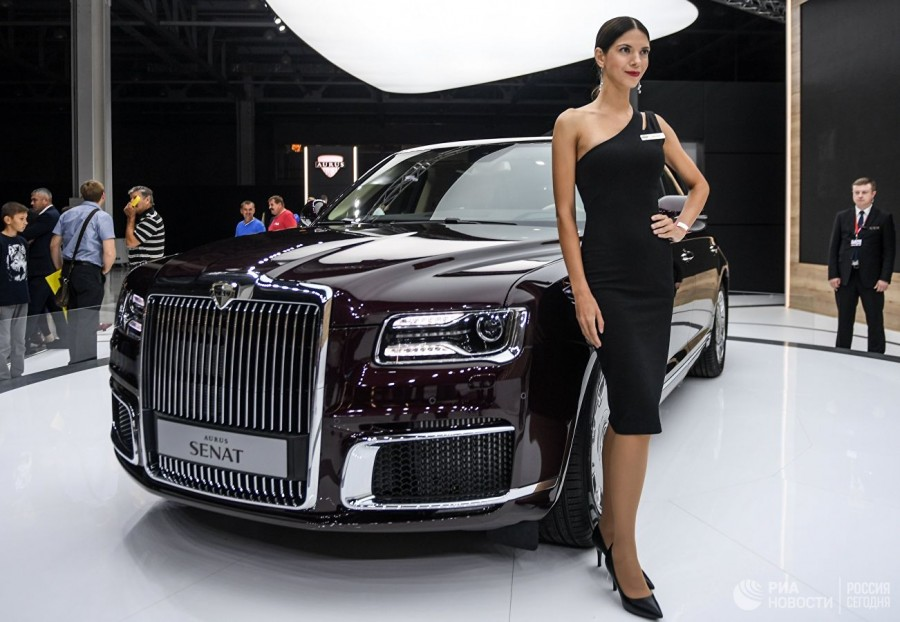 Россия представит автомобили…