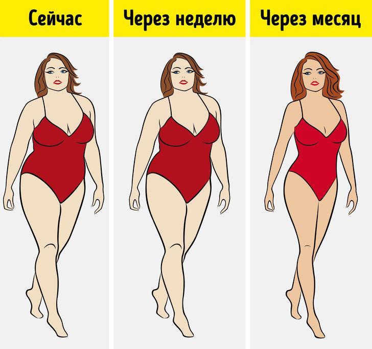 На заметку – 10 приемов, которые помогут продолжать худеть, если диета больше не работает