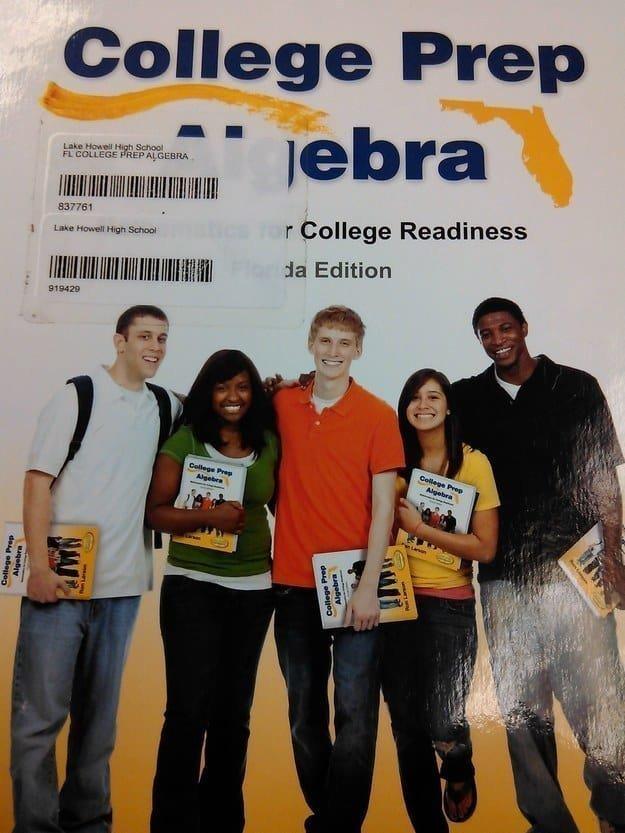 9. Взрыв мозга! Ребята позируют для фото на учебник, держа в руках эти же учебники в интернете, неожиданно, непонятно, подборка, странно, странные фото, фото
