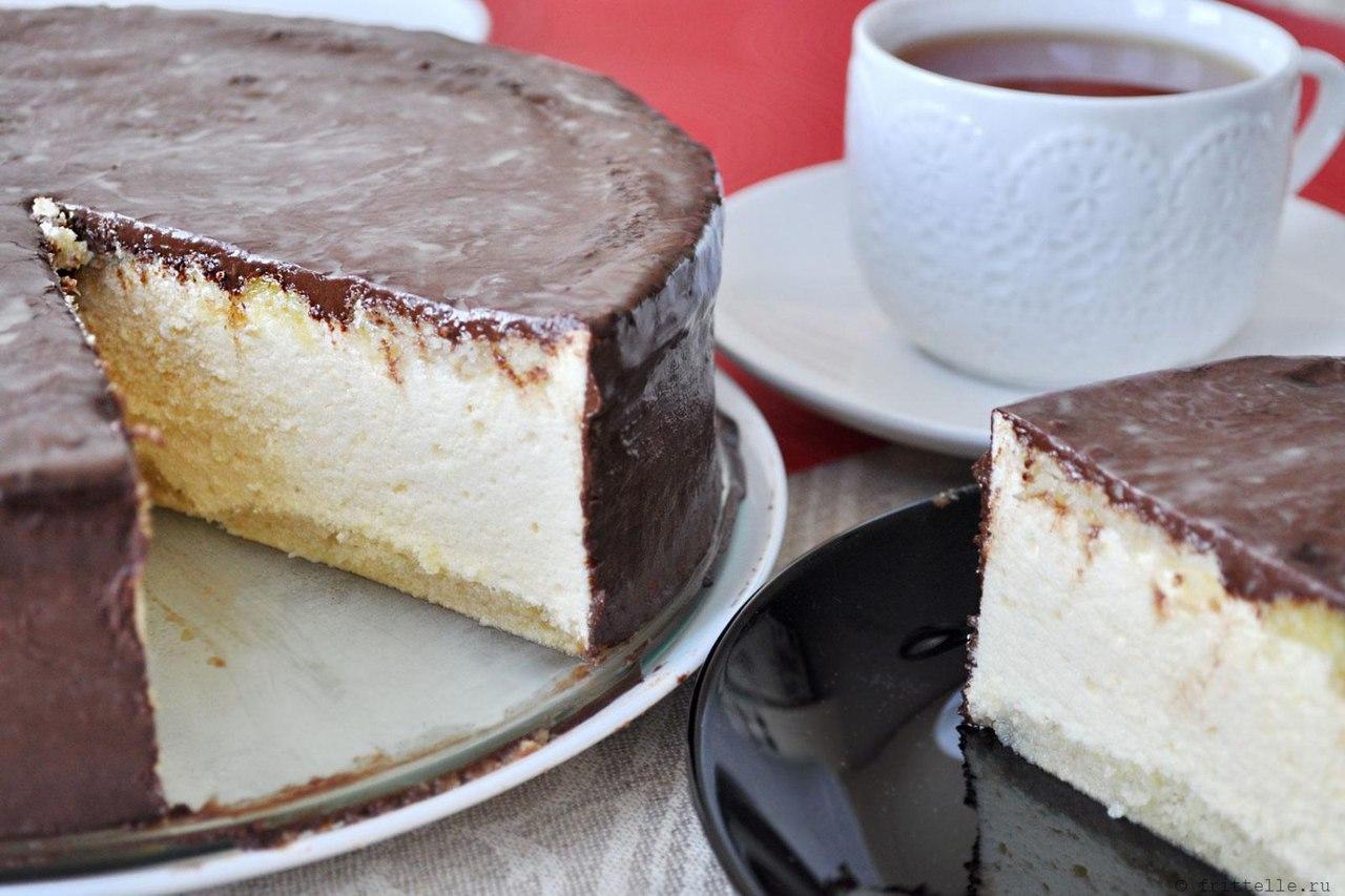 Низкокалорийный вариант торта «Птичье молоко»