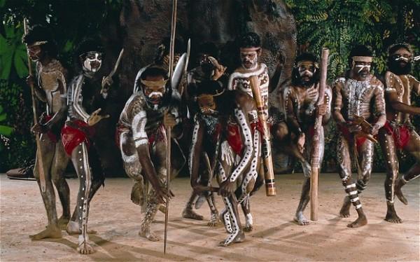 Танцы аборигенов Австралии и корробори