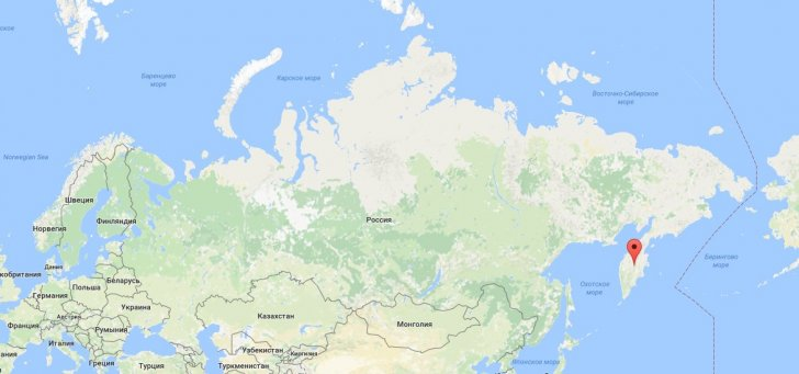 Это не Марс – это Россия! Это Камчатка