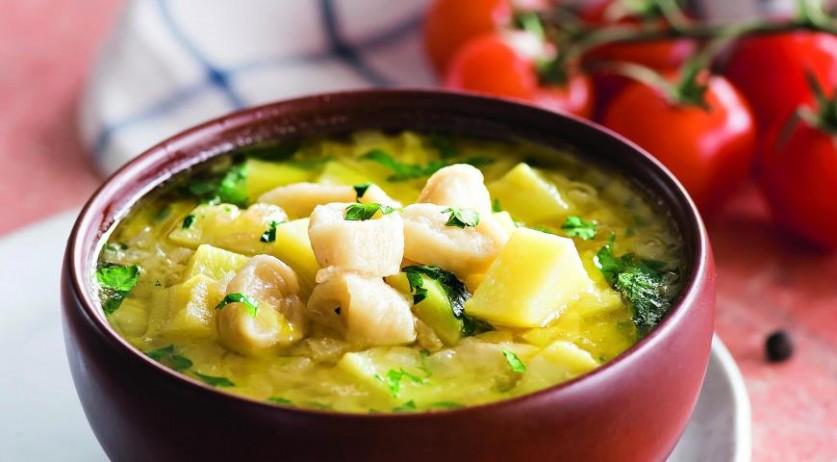 Молочный суп с клецками … и усталость снимает, и голод утоляет