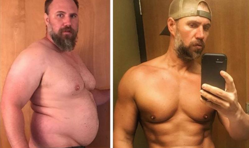 Отец троих детей похудел и помолодел на 20 лет