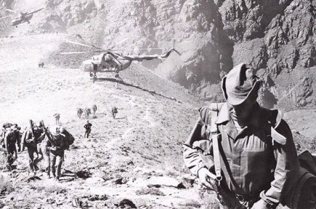 Тепловой удар. Афганистан 1985 г.