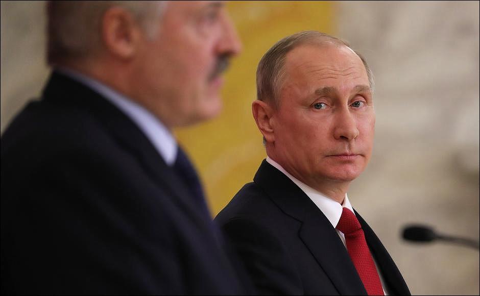 """Лукашенко: Россияне """"плявузгают"""", что Лукашенко хочет что-то показать Путину"""