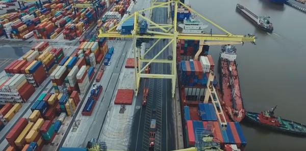 Новый Российский порт в Кали…