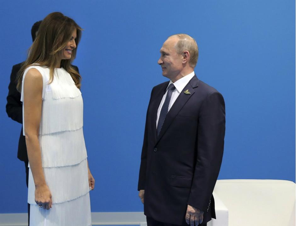«Определённая симпатия»: Песков рассказал о впечатлении Путина о Меланье Трамп на саммите G20