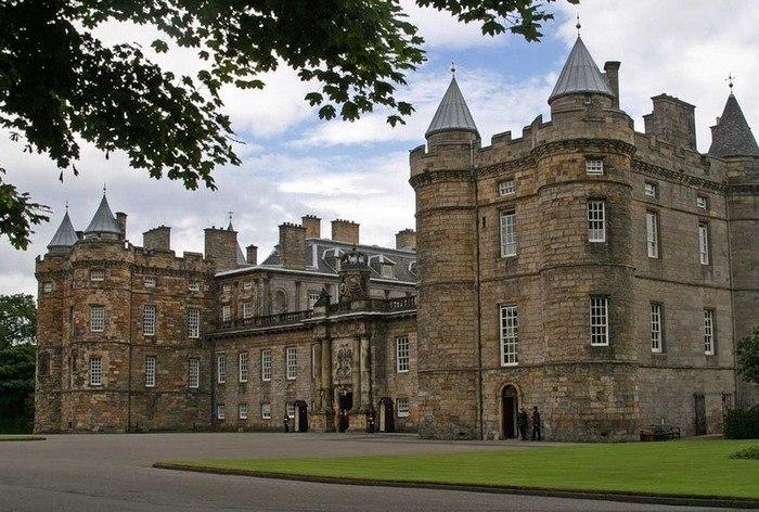 Холирудский дворец, Эдинбург, Великобритания