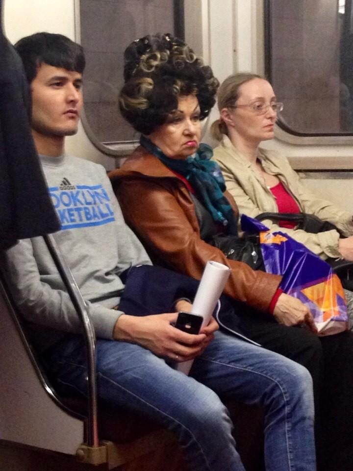 31. Шальная императрица мдники, метро, смешно, фото