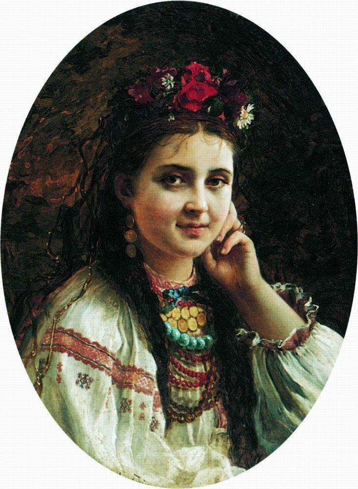 Портрет украинки
