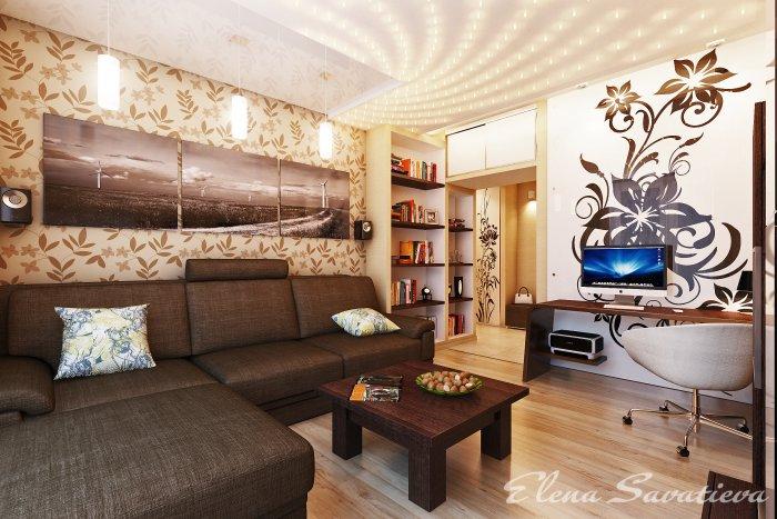 Дизайн идекор для гостиной