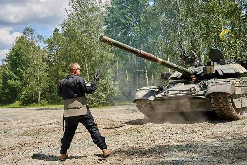 """Украинские """"Оплоты"""" не смогли отстреляться на европейском танковом биатлоне"""