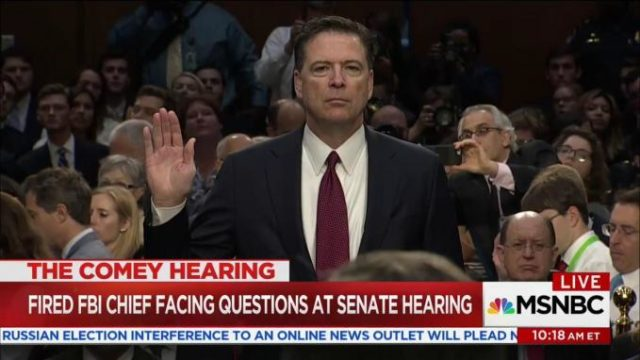 James Comey Testifies Before the Senate