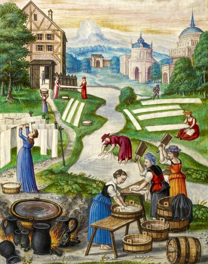 Как на самом деле жили знатные и простые женщины в Средневековье (Об этом редко пишут книги и снимают фильмы)