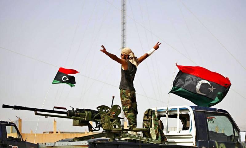 Ливия пошла с «российской карты»