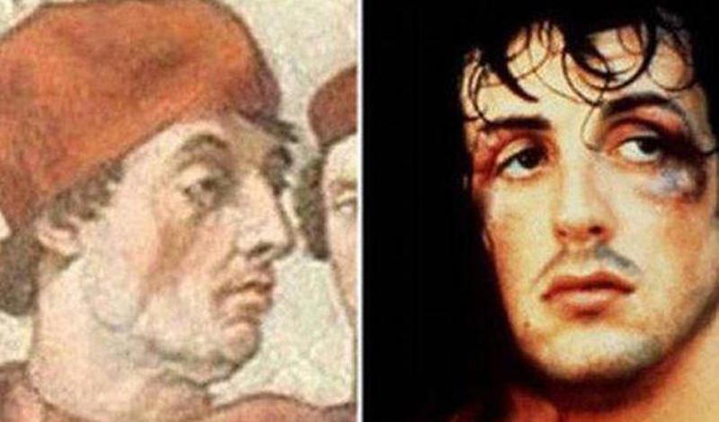 Картинки по запросу celebrities doppelgangers from the past