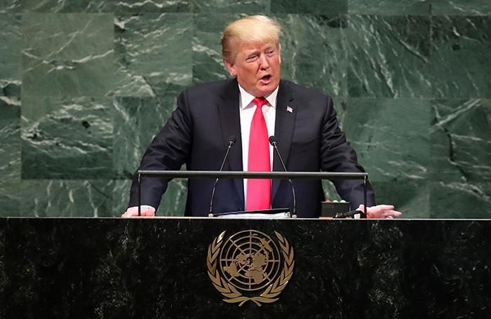 Дональд Трамп рассмешил Генассамблею ООН