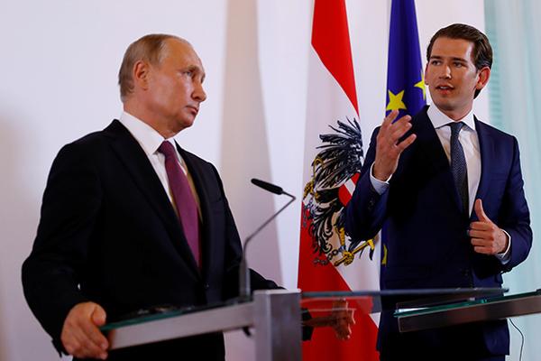 Австрия понадеялась на дружбу с Россией и решила поддержать санкции