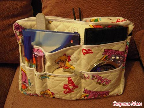 Органайзеры для сумки своими руками мастер класс