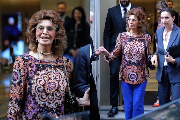 Софи Лорен – красивая бабушка: новые фото 83-летней актрисы привели в восторг фанатов