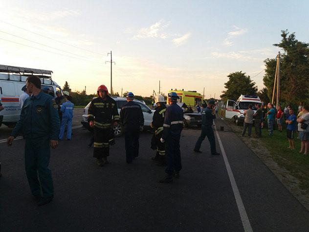 ДТП в Курской области унесло жизни пяти человек