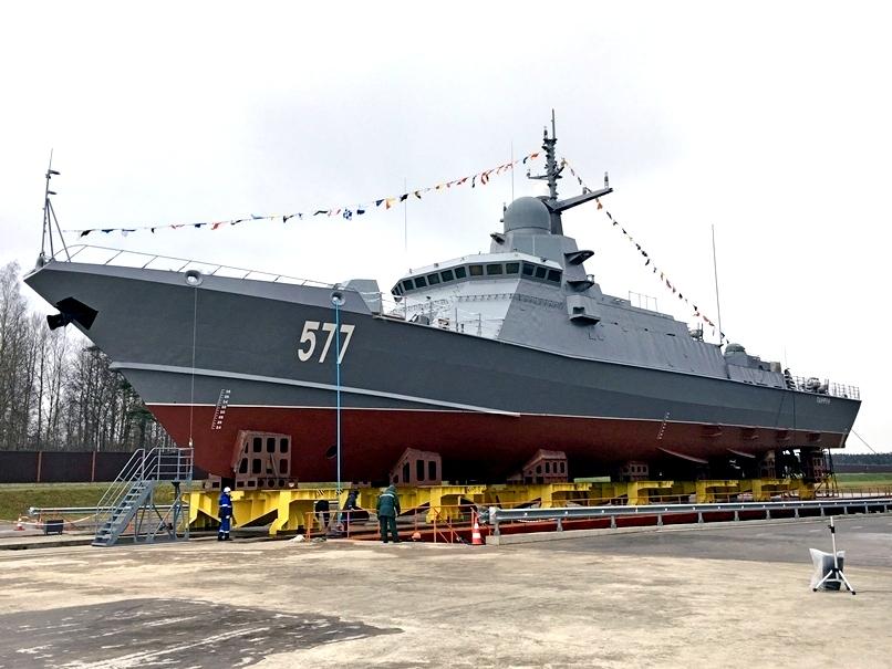 Малые ракетные корабли дают ВМФ большие возможности