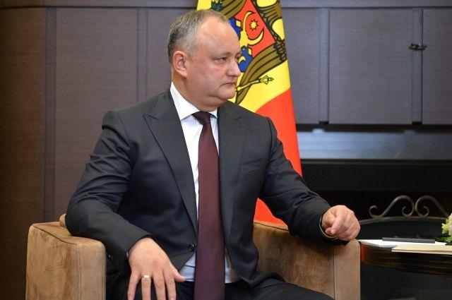 Игорь Додон осудил отказ во въезде в Кишинев Ираде Зейналовой