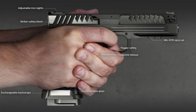 """Пришелец калибра 9 мм. """"Alien"""" и ряд революционных решений в пистолете"""