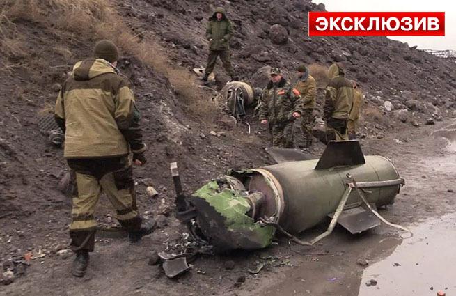 Ополченцы сбили ракету «Точка-У» под Луганском