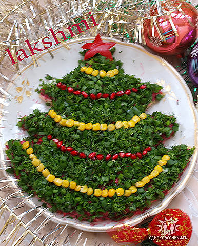 Новогоднее украшение блюд. Только идеи