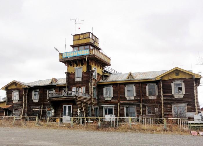 Аэропорт Сеймчан в Магаданской области России