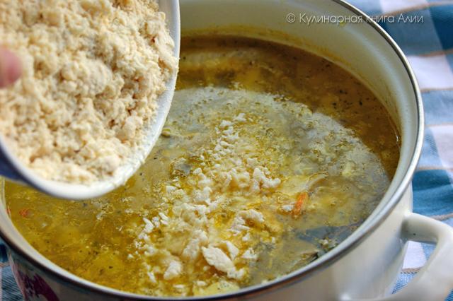"""Как приготовить сытный суп  """"Затируха"""""""