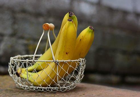 Бананы в корзине