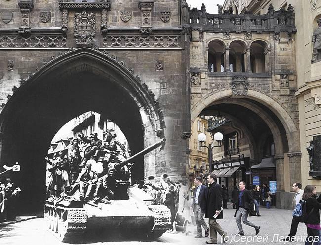 Как власовцы Прагу «спасали»