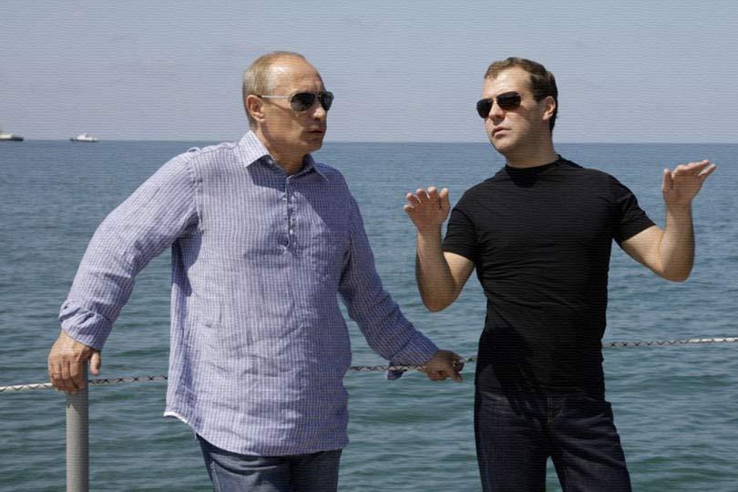 Путин продолжает спасать рей…