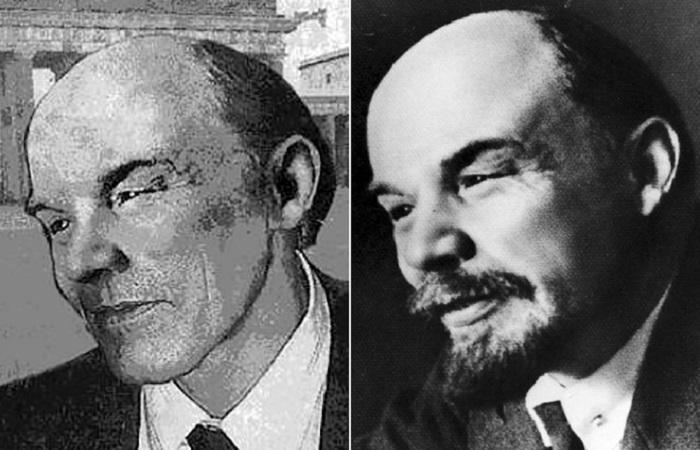 Мнимый сын Ленина в профиль был немного похож на вождя пролетариата./Фото: s008.radikal.ru