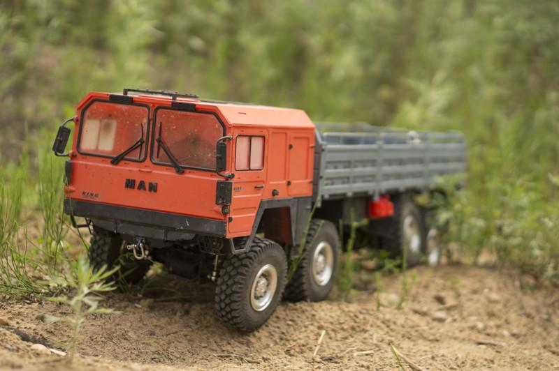 Man 8x8 Радиоуправляемый грузовик