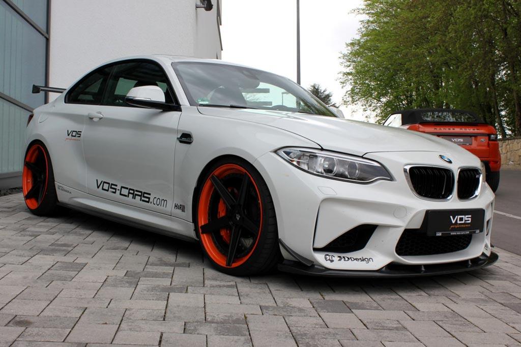 Тюнинг BMW M2 от ателье VOS Performance