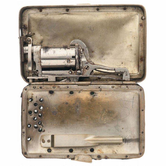 Забытые револьверы - необычные конструкторские решения XIX века