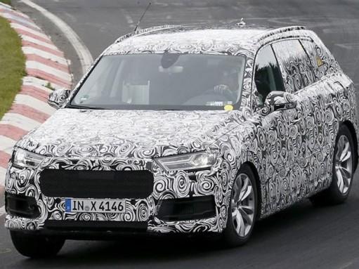 Шпионы засняли самый экономичный Audi Q7 нового поколения