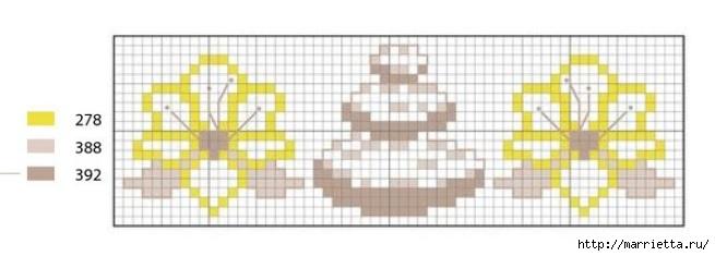вышивка крестом. идеи со схемами (5) (655x235, 73Kb)