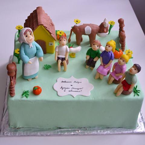 Торт на день рождения внучки своими руками